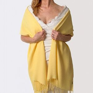 Super Soft Italian Pashmina - Yellow