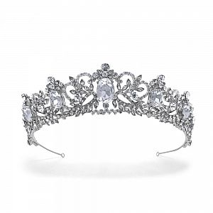 Regal Style Wedding Tiara Antoinette