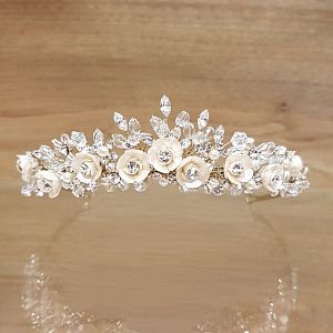 Baccara Antique Gold Tiara