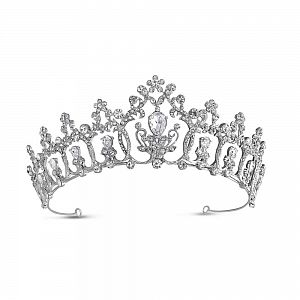 Eternity Diamante Regal Style Tiara