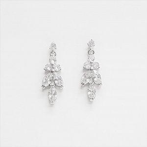 Amalia Simulated Diamond Earrings