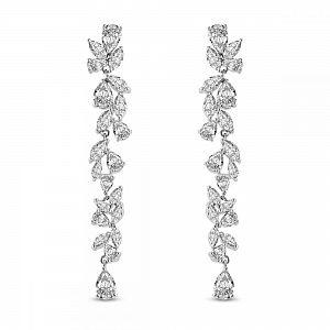 Clara Crystal Bridal Earrings