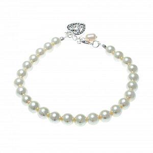 Hepburn Freshwater Pearl Bridal Bracelet