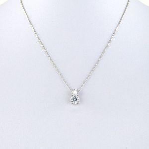 Milan Simulated Diamond Pendant