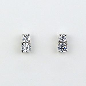 Milan Simulated Diamond Stud Earrings