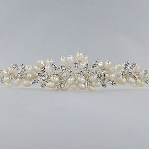 Paris Pearl & Diamante Tiara