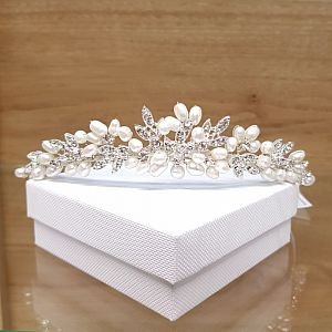 Pearl & Diamante  Paris Tiara
