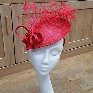 Red Disc / Wedding Hat