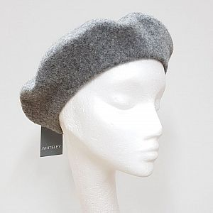 Wool Beret - Grey
