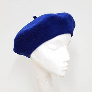 Wool Beret - Royal Blue