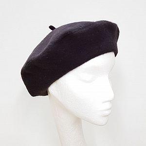Wool Beret - Mocha