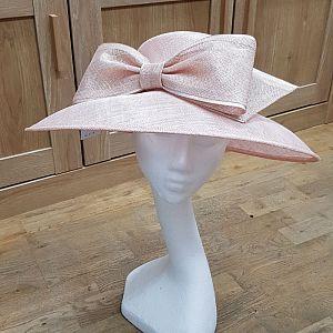 Blush Wedding Hat / Occasion Hat