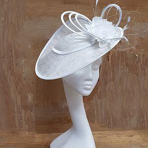 White Hatinator / Wedding Hat