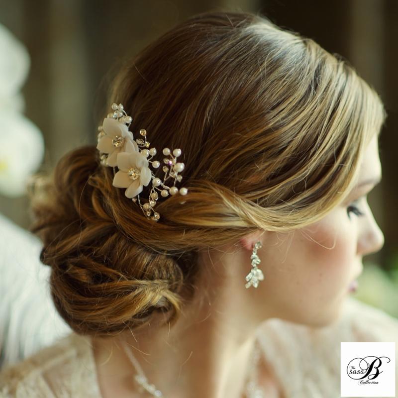 Vivian Bridal Comb, Bridal Hair Accessories