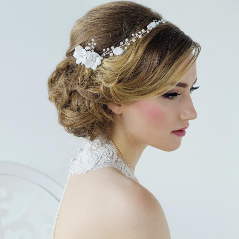 Anais Bohemian Chic Hair Drape, Bridal Hair Accessories