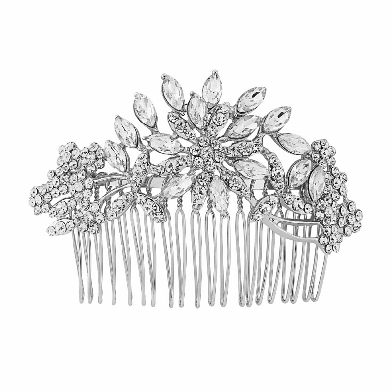 Crystal Bridal Comb, Bridal Hair Accessories