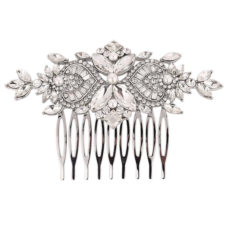 Crystal Bridal Comb, Bridal Hair Accessories