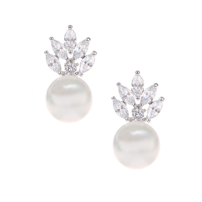 Pearl and Sparkle Earrings, Jewellery