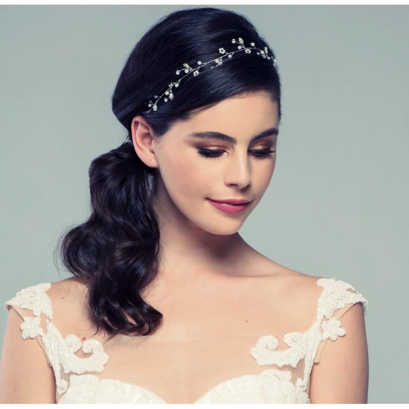Pearl Romance Hair Vine, Bridal Hair Accessories