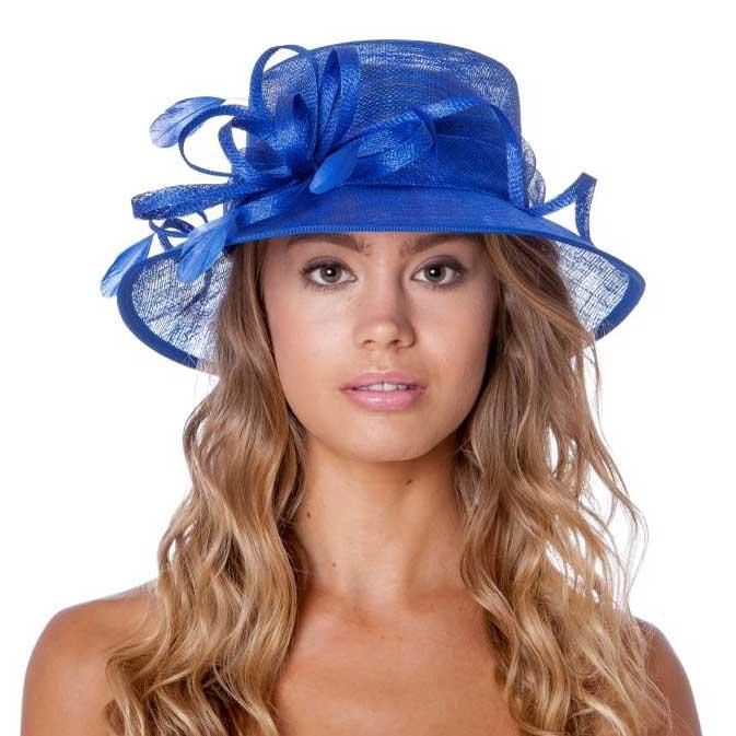 Small Occasion / Wedding Hat - Cobalt Blue, Ladies Hats