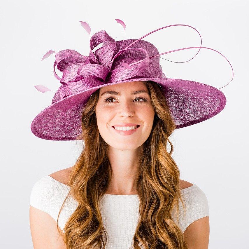 Wedding Hat / Occasion Hat - Cassis, Ladies Hats