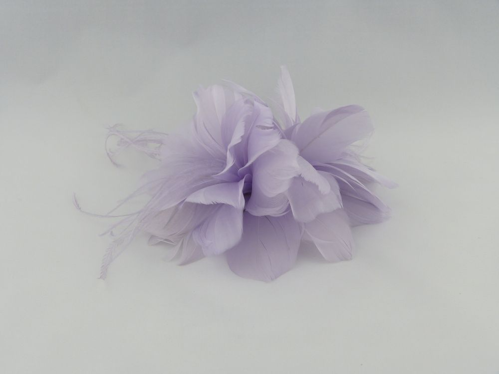 Feather Fascinator Clip, Fascinators