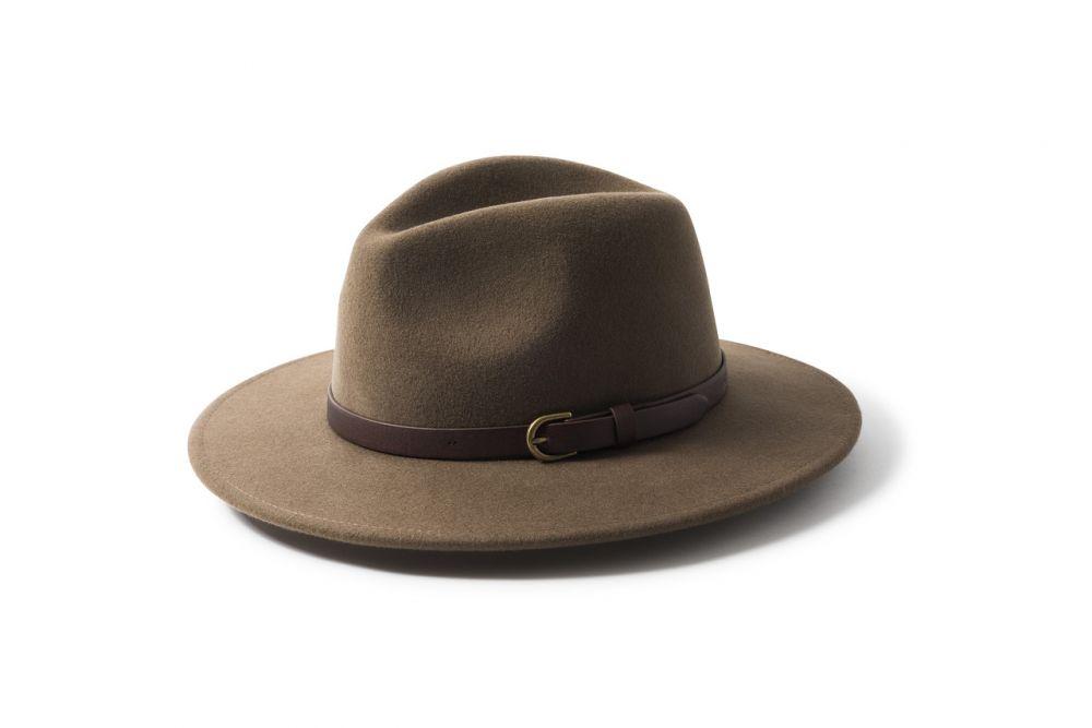 Failsworth Wool Felt Fedora - Adventurer Cork, Men's Hats