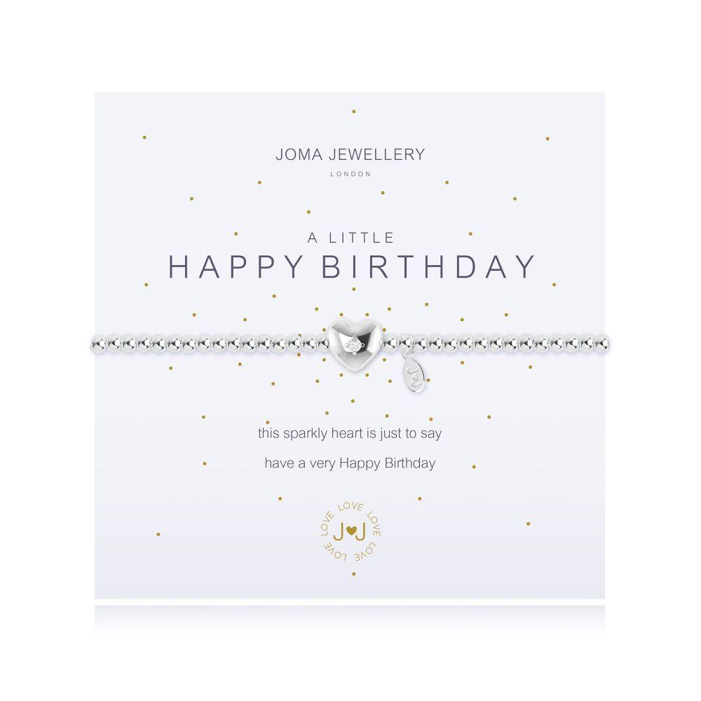 Joma Bracelet - Happy Birthday, Jewellery