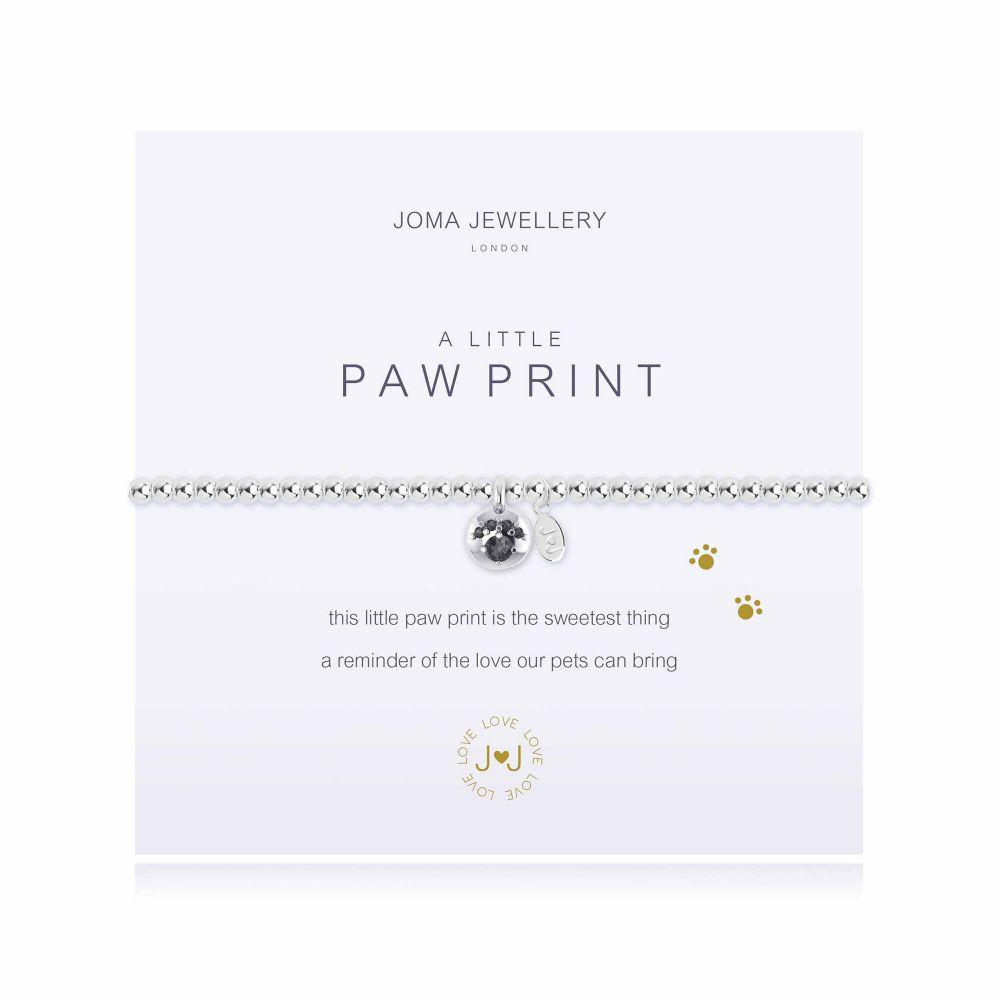 Joma Bracelet - Paw Print, Jewellery