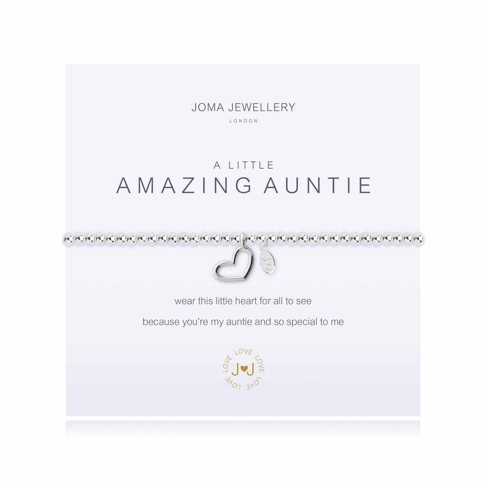 Joma Bracelet - Amazing Auntie, Jewellery