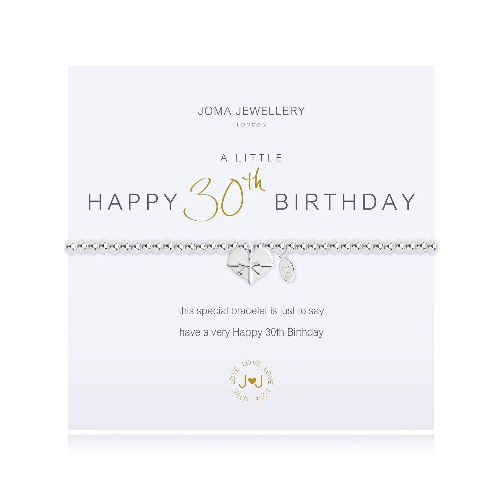 Joma Bracelet - Happy 30th Birthday, Jewellery