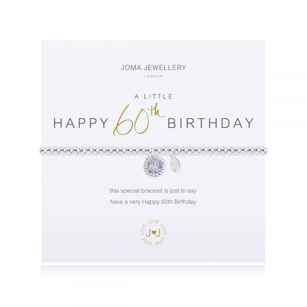 Joma Bracelet - Happy 60th Birthday, Jewellery