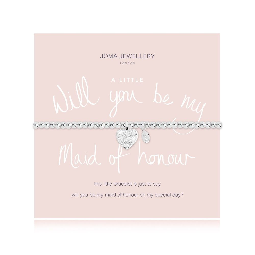 Joma Bracelet - Will you be my Maid of Honour, Jewellery