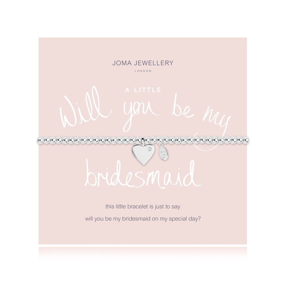 Joma Bracelet - Will you be my Bridesmaid, Jewellery
