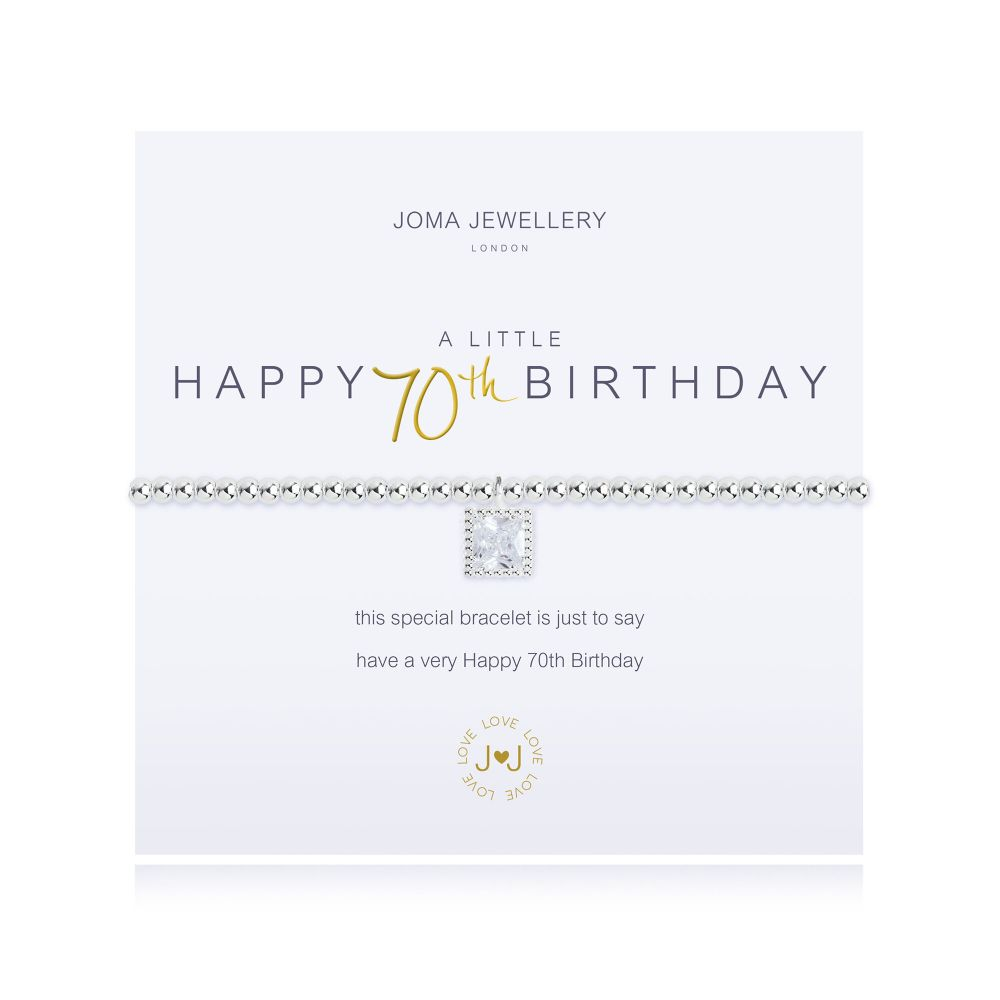 Joma Bracelet -  Happy 70th Birthday, Jewellery