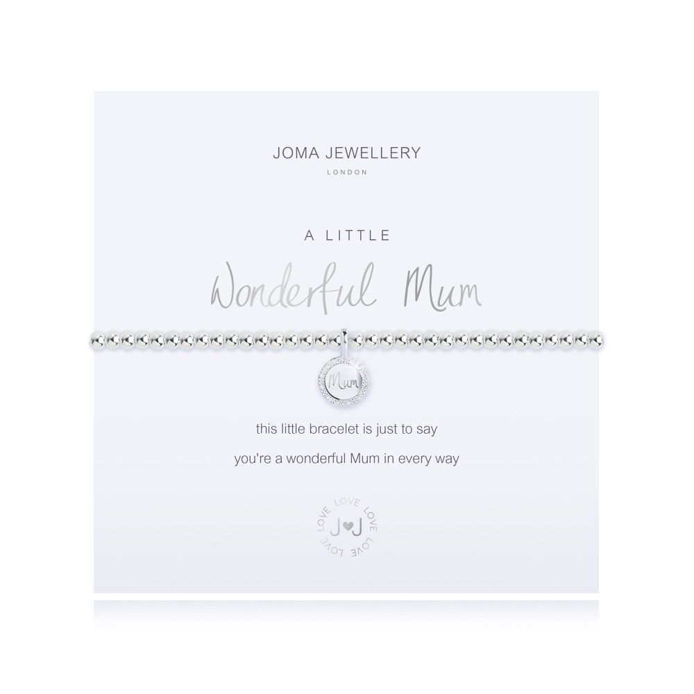 Joma Bracelet -  Wonderful Mum, Jewellery