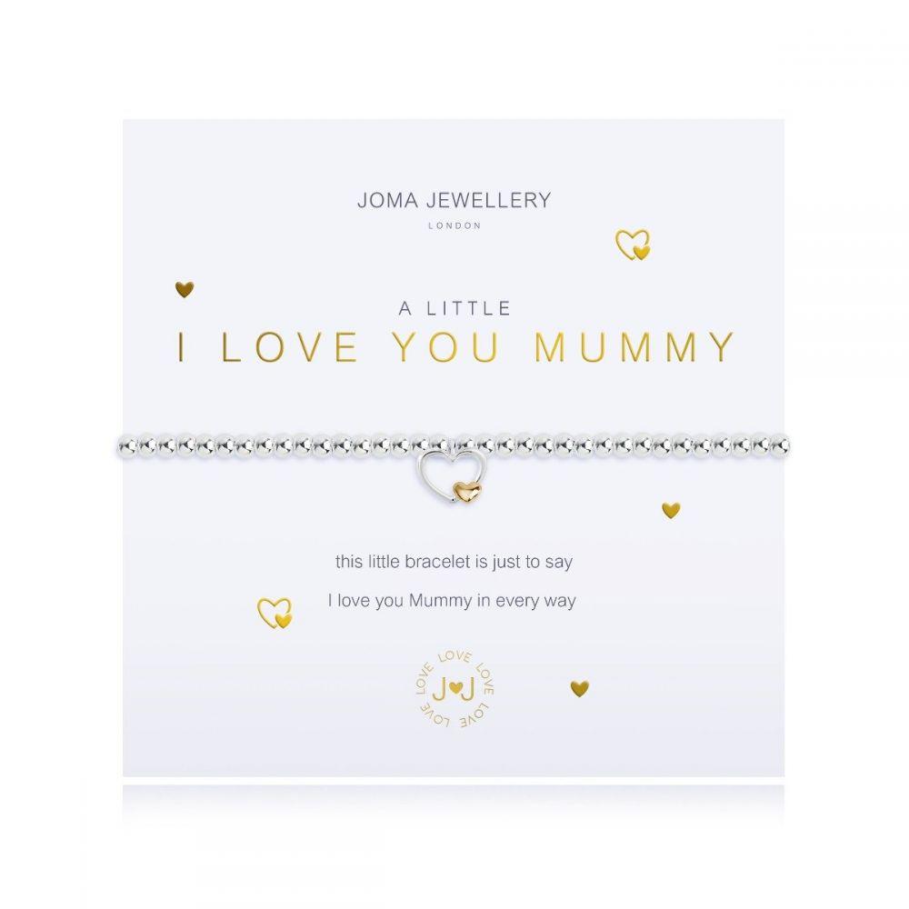 Joma Bracelet -  I Love You Mummy, Jewellery