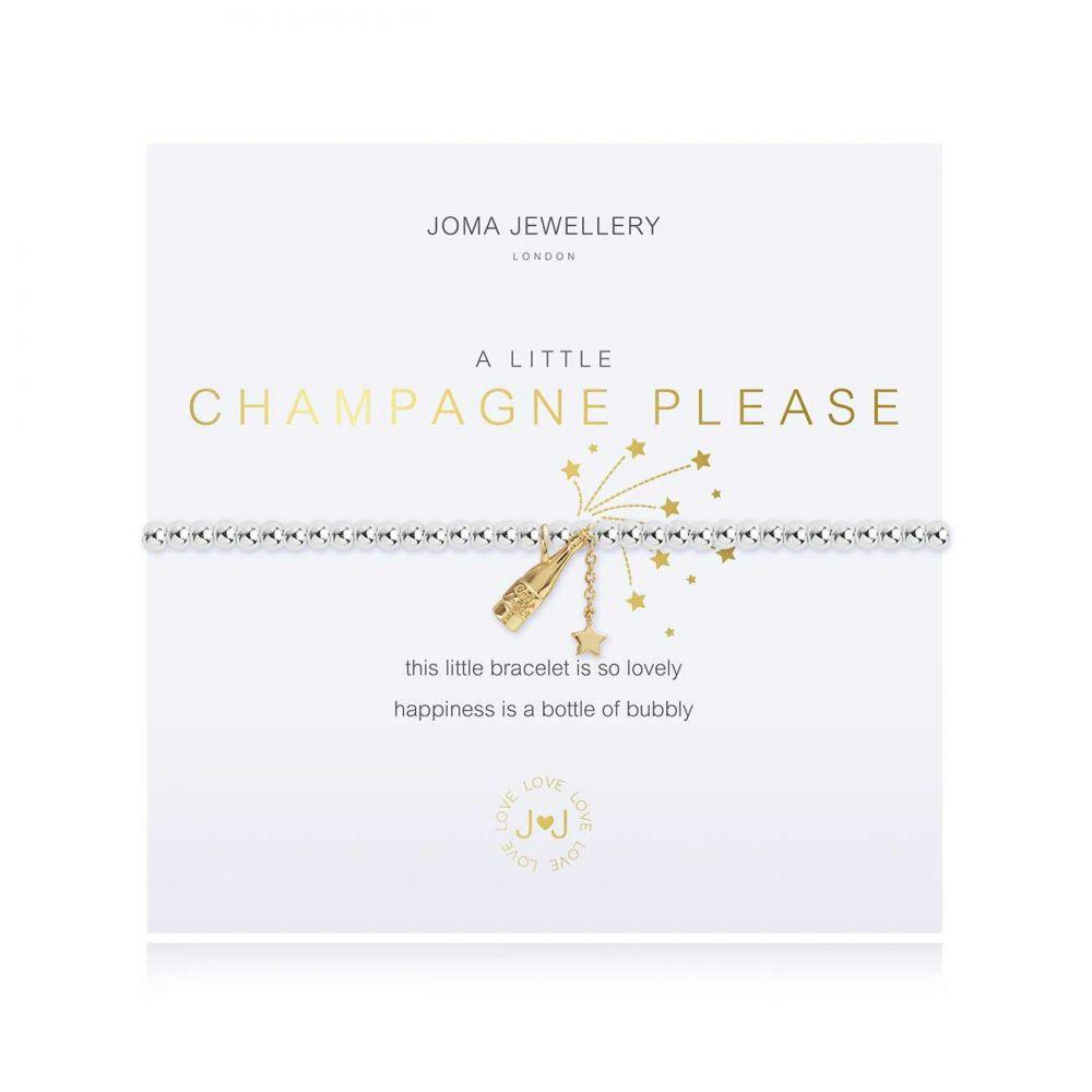Joma Bracelet -  Champagne Please, Jewellery