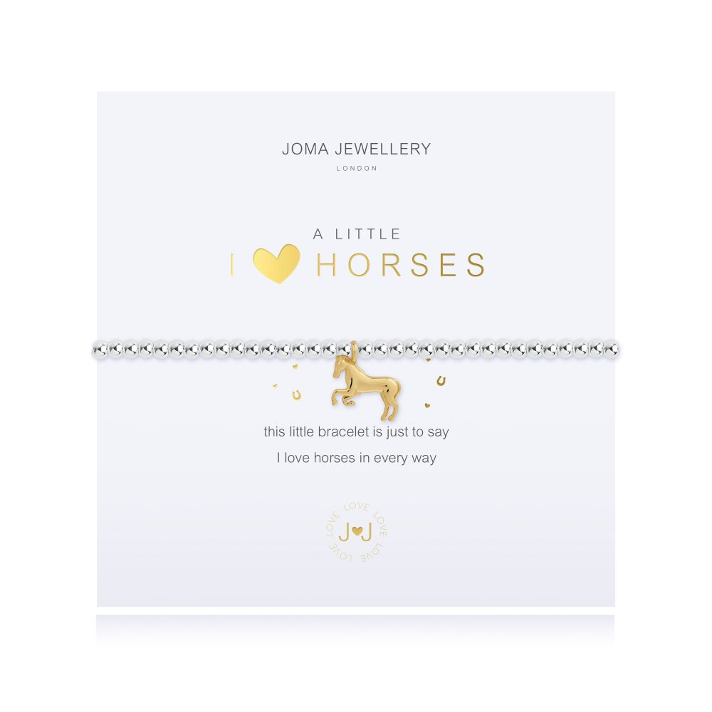 Joma Bracelet -  I Love Horses, Jewellery