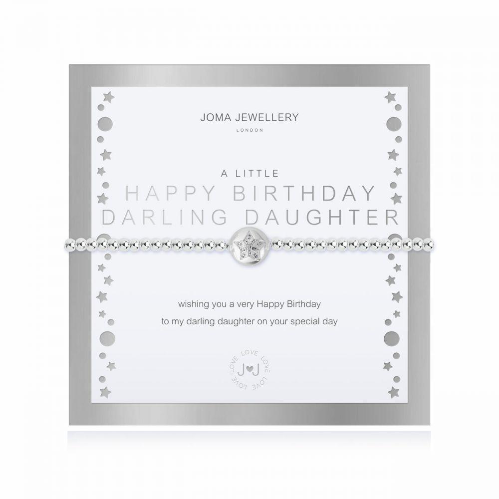 Joma Bracelet -  Happy Birthday Darling Daughter, Jewellery