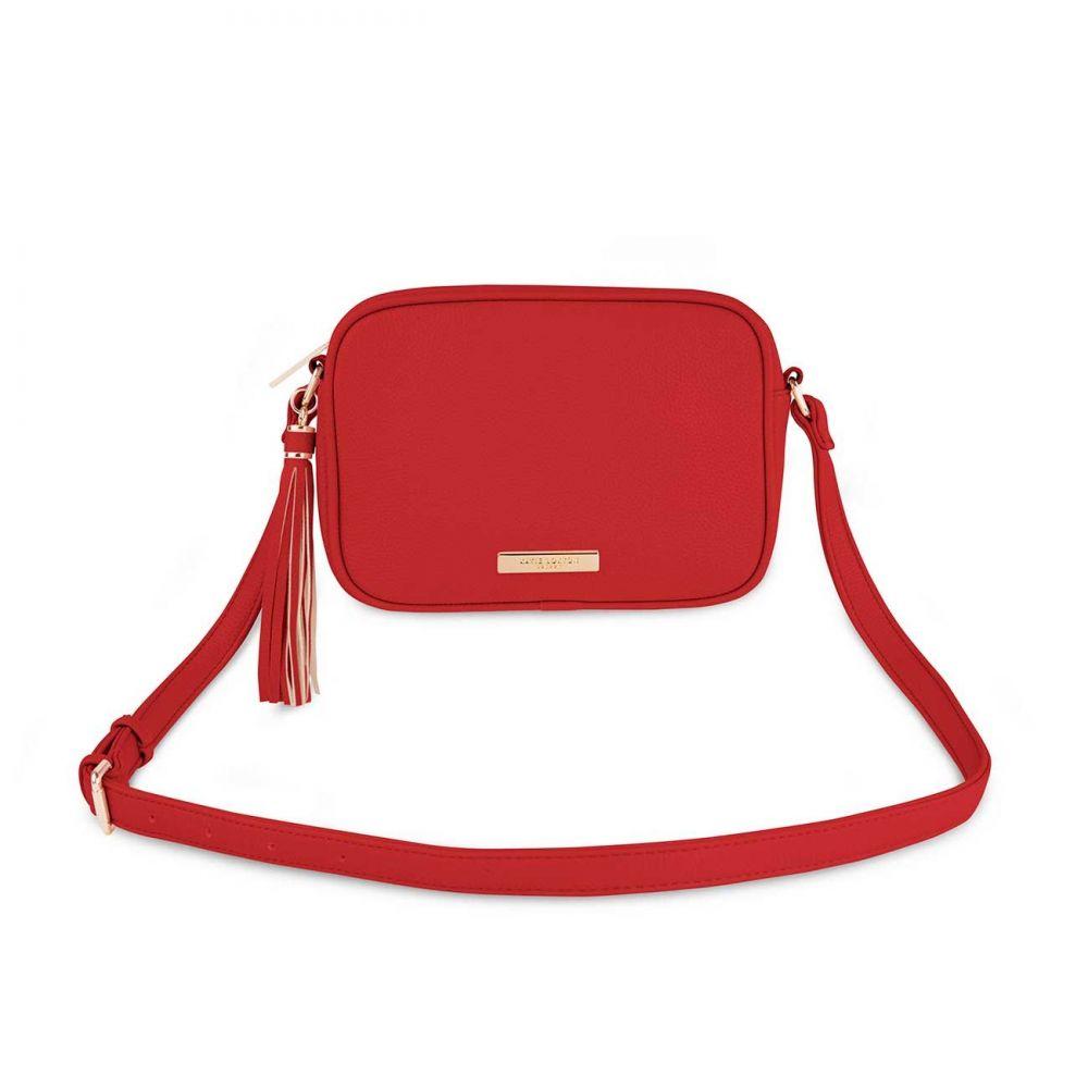 Katie Loxton Sophia Tassel Bag - Red, Katie Loxton