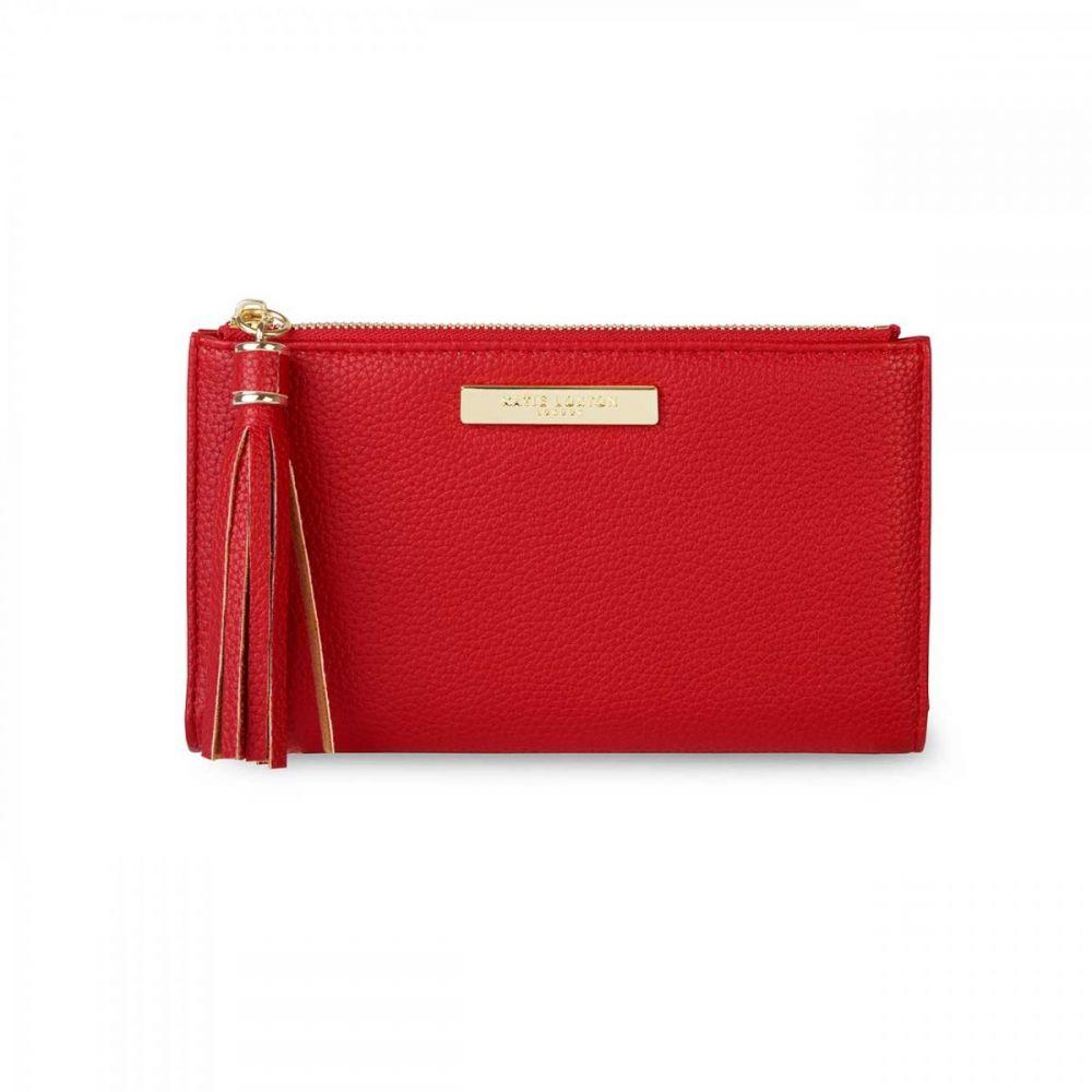 Katie Loxton Sophia Tassel Fold Out Purse - Red, Katie Loxton