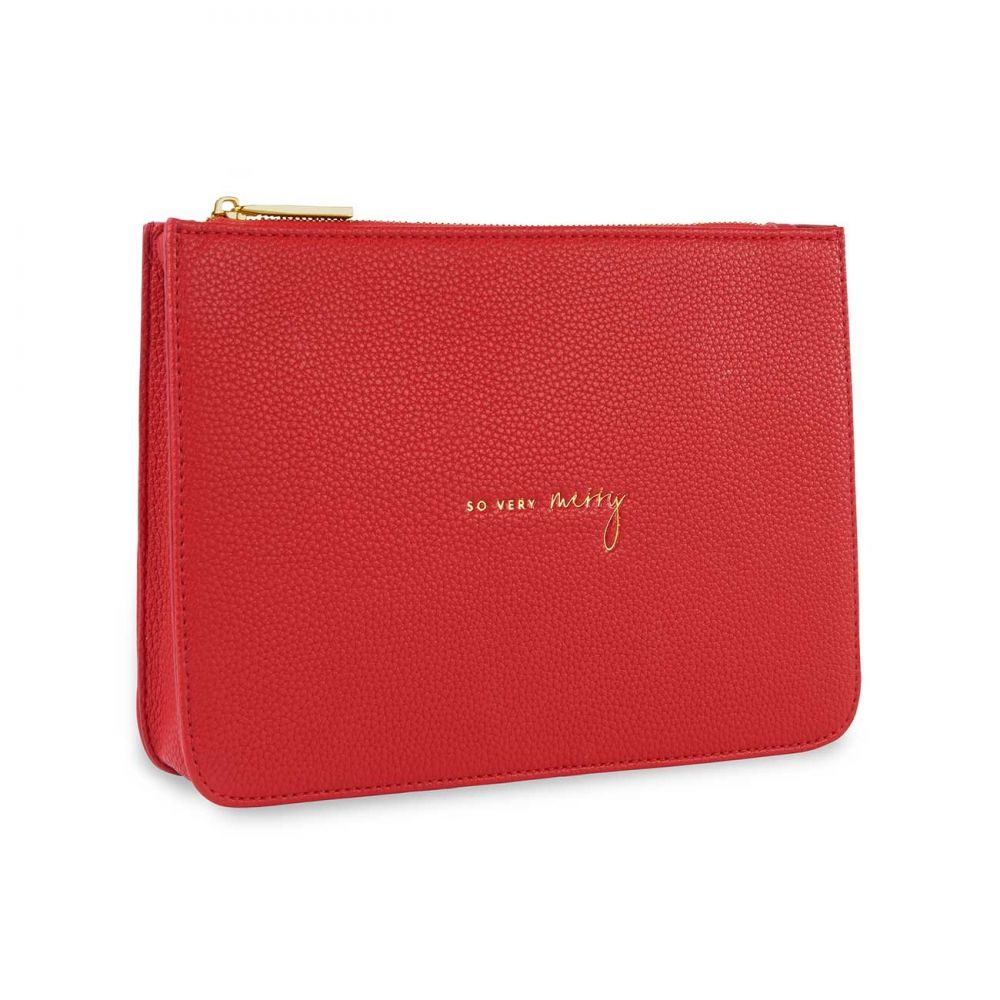 Katie Loxton Structured Pouch - So Very Merry, Katie Loxton