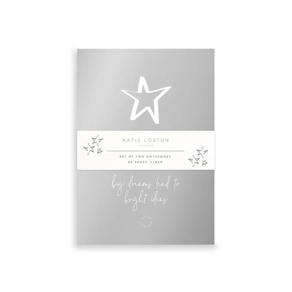 Katie Loxton Small Duo Pack Notebooks - Big Dreams Lead to Bright Ideas, Katie Loxton