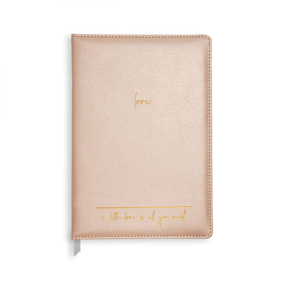 Katie Loxton A5 Notebook - A Little Love Is All You Need, Katie Loxton