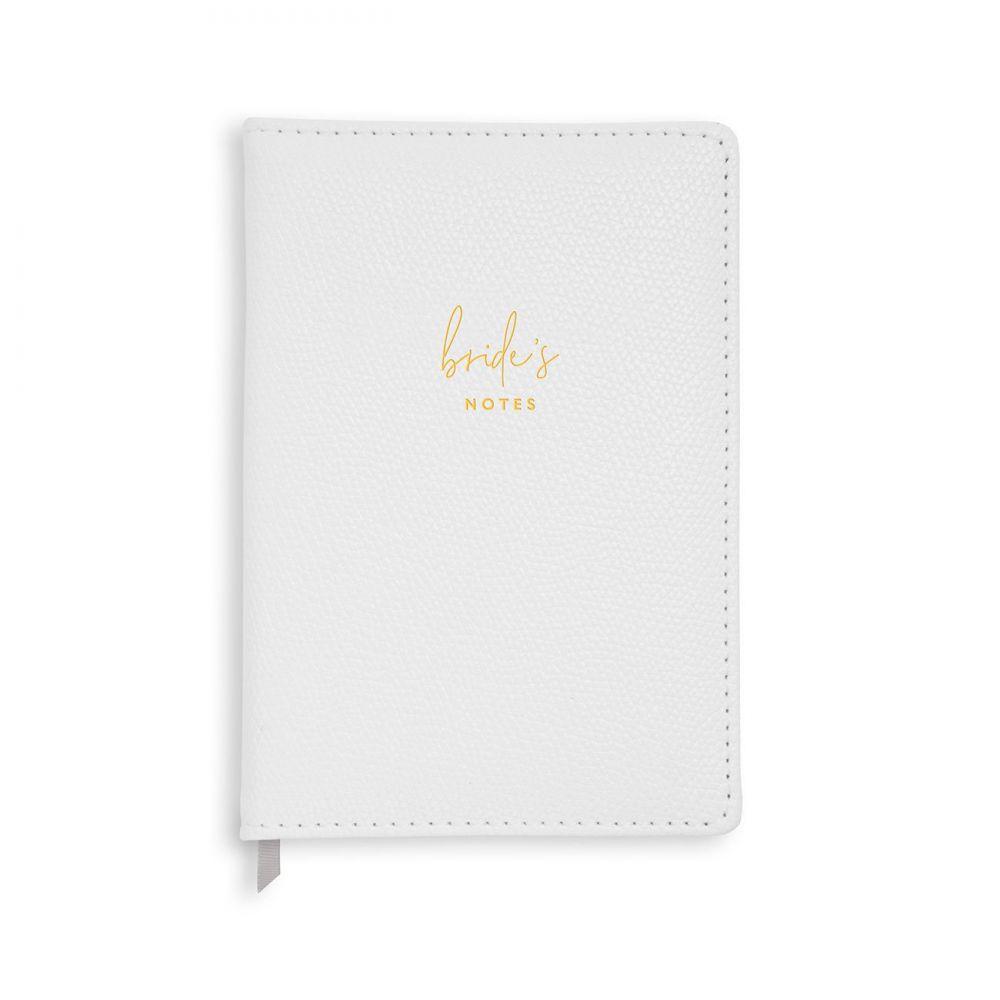 Katie Loxton A5 Brides Notes Notebook, Katie Loxton