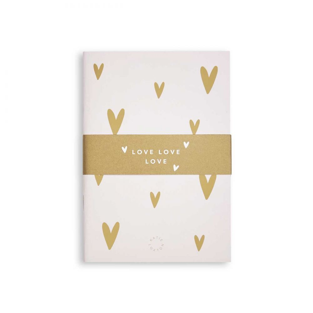 Katie Loxton Small Duo Pack Notebooks - Love Love Love, Katie Loxton