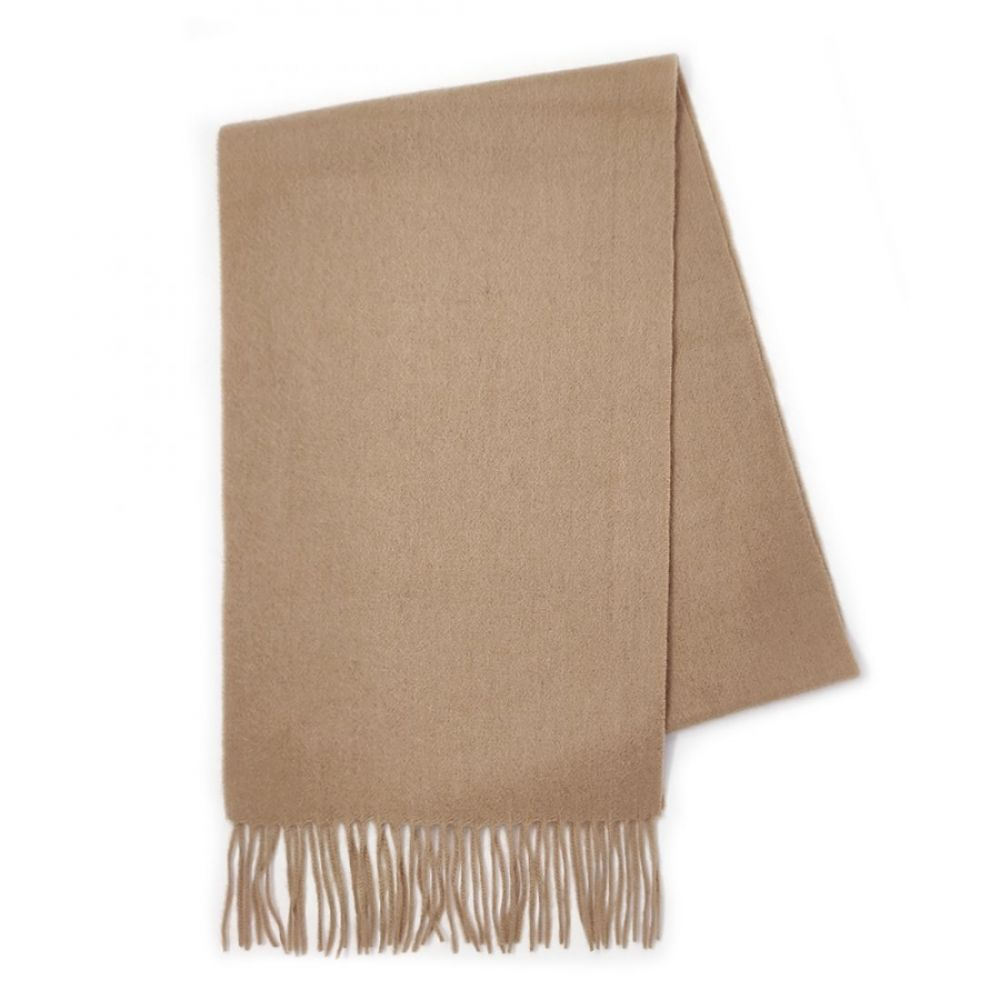 Kiltane Lambswool Scarf - Warm Camel, Accessories