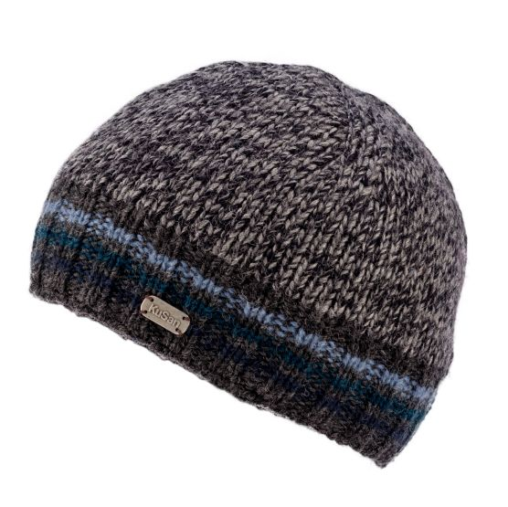 KuSan Hi Rib Unisex Fleece Lined Beanie - Blue, KuSan Hats & Accessories