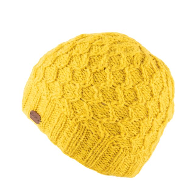 KuSan Fleece Lined Unisex Beanie Hat - Yellow, KuSan Hats & Accessories